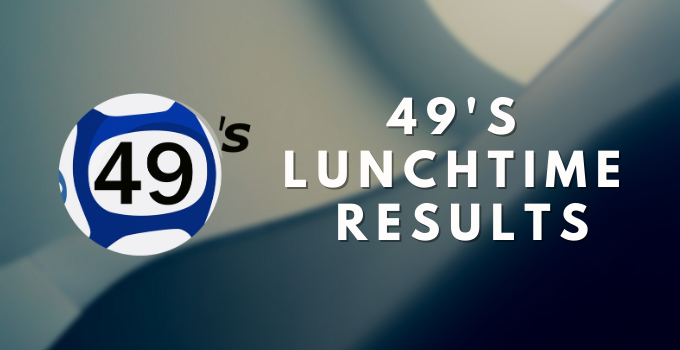 Lunchtime Results